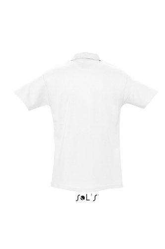 SOL´S Polo Spring II, Größe:4XL, Farbe:White