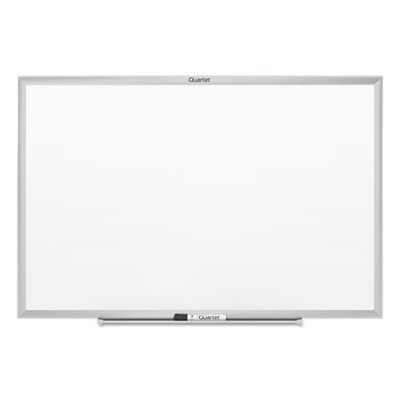 Classic Melamine Whiteboard, 60 x 36, Silver Aluminum Frame, Sold as 1 Each by Generic