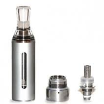 eGo EVOD BCC Metall 1,6 ml Bottom Coil Changable Clearomizer in silber, 1,8 Ohm Widerstand, auf Lager, SOFORT LIEFERBAR