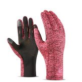 Gloves Travel Supplies - Unisex Warm Touch Screen Fleece Gloves Cycling Skiing Sports Outdoor Windproof Gloves - Women Lined Fits Thermal Designed S Boundaries Climbing Pocket - ()