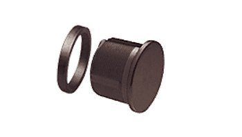 CRL Dark Bronze Anodized Mortise Dummy (Dummy Cylinder)