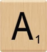 Amazon.com: (10) Beautiful Scrabble Letter A Tiles, Scrabble for