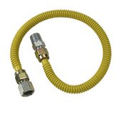 Brass Craft 3/8 x 3/8 x 24 in. FIP Stainless Steel Gas Connector