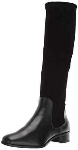Aquatalia Women's Lina Calf/Stretch Suede Knee High Boot