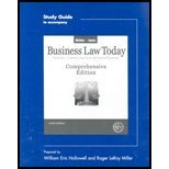 Download Business Law Today, Comprehensive Edition / Study Guide (6th, 04) by Miller, Roger LeRoy [Paperback (2003)] PDF