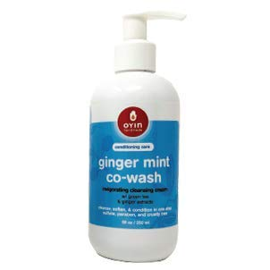 GingerMint Co-Wash ~invigorating cleansing cream - 8oz