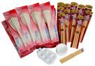 Royal Brush Ox Hair Bamboo and Hake Brush Classroom Assortment - Assorted Size44; Pack 108