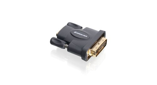 IOGEAR DVI Male to HD Female Adapter, GHDFDVIMW6