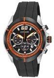 Citizen Eco Drive HTM Black Dial SS Polyurethane Quartz Men's Watch CA4108-04E
