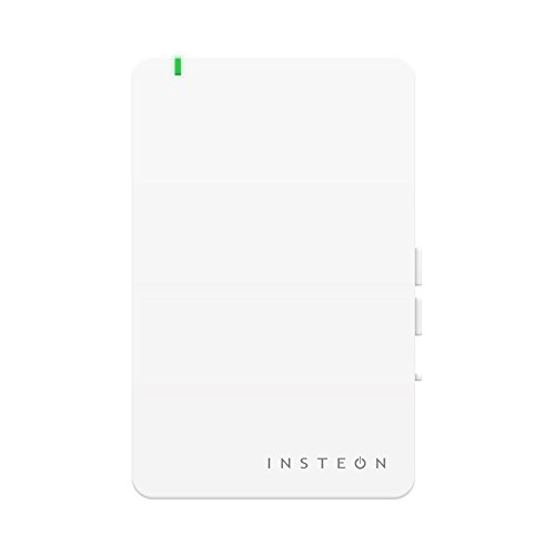 Insteon Smart Plug, Works with Alexa via Insteon Bridge, Uses Superior Dual-Mesh Wireless Technology for Unbeatable Reliability - Better than Wi-Fi, Zigbee and Z-Wave