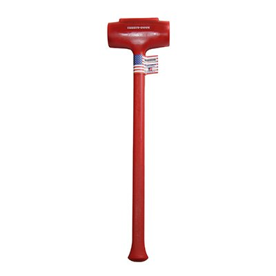 Trusty-Cook Model 12-168 oz Polyurethane Dead Blow Hammer - Red by Trusty-Cook (Image #1)