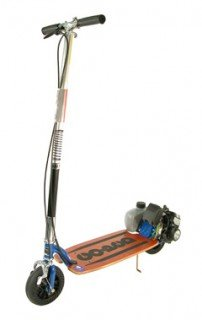 GO-PED LIGHTWEIGHT MOTORIZED SCOOTER BLUE