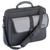- Targus Platinum Standard Notebook Carrying Case, Gray/Black nylon twill. TRGCPT300