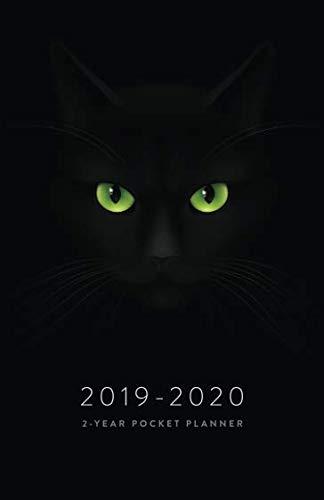 2013 Pocket Calendar - 2019-2013 2-Year Pocket Planner: The Black Cat Lover's Pocket Calendar and Monthly Planner 2019-2020 (2019 Daily, Weekly and Monthly Calendar Planners and Appointment Books)