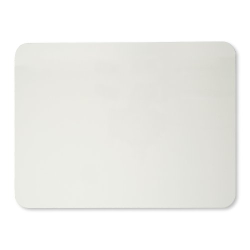 Charles Leonard Set of 12 Dry Erase Lapboards, 9 x 12 Inches, Masonite, One Sided, Plain White, 12 Each (35100)