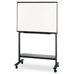 Quartet IdeaShare Mobile Stand for Electronic Boards, Graphite Gray