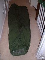 US MILITARY MODULAR SYSTEM GREEN PATROL SLEEPING BAG, Outdoor Stuffs
