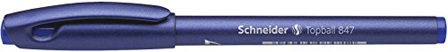 Schneider Topball 847 Blue 0.5 mm Disposable Rollerball Pen Photo #4