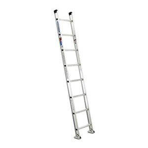 Ladder, 8 ft.H, 18-1/8 In W, Aluminum