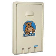 (3 Pack Value Bundle) KKPKB10100 Standard Recessed Vertical Baby Changing Station, Cream