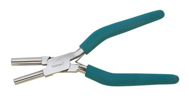 Wubbers 7mm and 9mm Bail Making Jewelry Pliers, Large