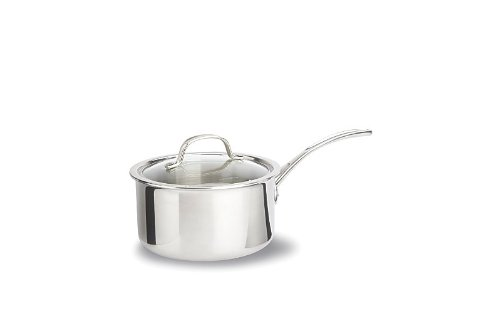 Calphalon Tri-Ply Stainless Steel 2-1/2-Quart Sauce Pan with Cover