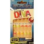 Broadway Fashion Diva Nail Kit Short Length 54033 by Broadway
