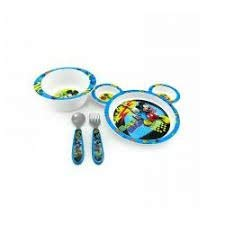 The First Years Mickey Mouse Feeding Set]()
