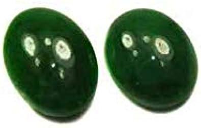 Cabujón 5 x 7 mm, Jadeit (Jade imperial)