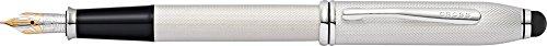 Cross Townsend Stylus Fountain Pen (Platinum Plate) (Medium) Cross Townsend Platinum Fountain Pen