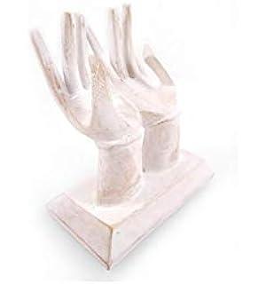 Escultura manos vacío, bolsillo o-Expositor para tarjetas de ...