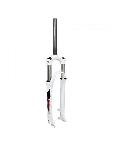Fourche VTT 29 suntour xcm-hlo alu Blanc 100mm reglable et blocable pour Frein a Disque Pivot Lisse 1 1-8-28,6 Exterieur Cycle SELECTION P2R