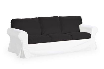 Funda para IKEA EKTORP 3 sofá, solo espalda y funda de cojín ...