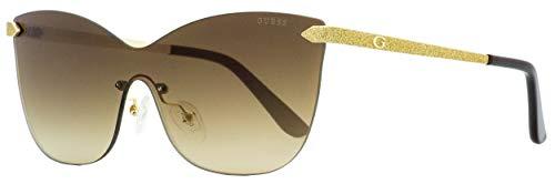 GUESS Women's GU7549 Gold/Brown Mirror One ()