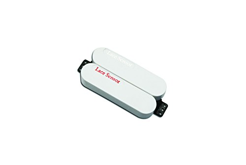 Lace 44474-01 Sensor Dually Bridge Pickup, Red/Silver and White Cover