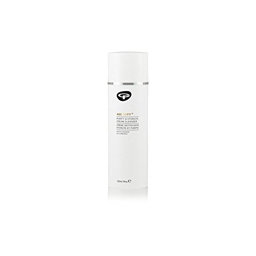 Green People Age Defy+ Purify Cream Cleanser (150ml) (Pack of 4)