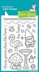 Gnome Sweet Gnome Clear Stamp Set (Lawn Fawn) (Gnome Sweet Gnome)