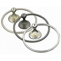 Alno A9040-PC Embassy Traditional Towel Rings, Polished Chrome by Alno