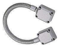 C.R. LAURENCE MLDL101 CRL Brushed Stainless Armored Door Loop by C.R. Laurence