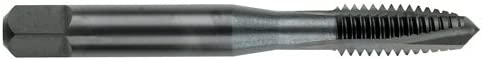 4 Flutes ShearTap Spiral Point Tap HSS Spiral Point H3 Pitch Dia 1 in Thread Length Black Finish 9//16 Morse Cutting Tools 34439 Limit 18