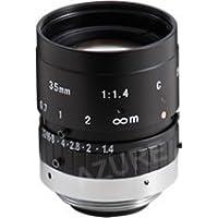 Azure Photonics AZURE-3514MM 2/3 35mm F1.4 Manual Iris C-Mount Lens, 2 Megapixel Rated