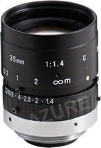 Azure Photonics AZURE-3514MM 2/3'' 35mm F1.4 Manual Iris C-Mount Lens, 2 Megapixel Rated by Azure Photonics