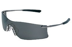 Crews T4112AF Rubicon Safety Glasses Metal Temple w/Gray Anti-Fog Lens (12 Pair)