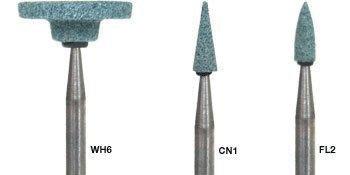 Shofu Dental Corp 104 Dura-Green Stones FG FL2 12/Pk
