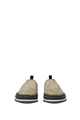 Slip kud734scamosciato1 Shoe Beige Car Eu Uomo Camoscio On Fw5w8qT