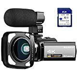 Best Camcorders - 4K Camcorder Video Camera Rosdeca Ultra HD 48.0MP Review