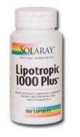 Solaray Lipotropic 1000 Plus? -- 100 Capsules
