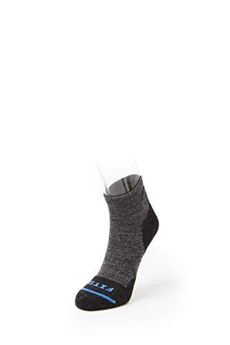 FITS Light Hiker - Quarter Socks, Coal, XXL