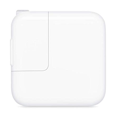Apple 12W USB Power Adapter (for iPhone, iPad) (Adapter Power 5 Iphone Usb)