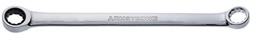 Armstrong 54-517 17mm 12 Point Full Polish Double Box Ratcheting Wrench ()